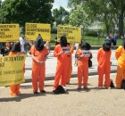 ICNA CSJ Participates in Close Guantanamo Rally at the White House
