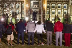 Oklahoma University Vigil