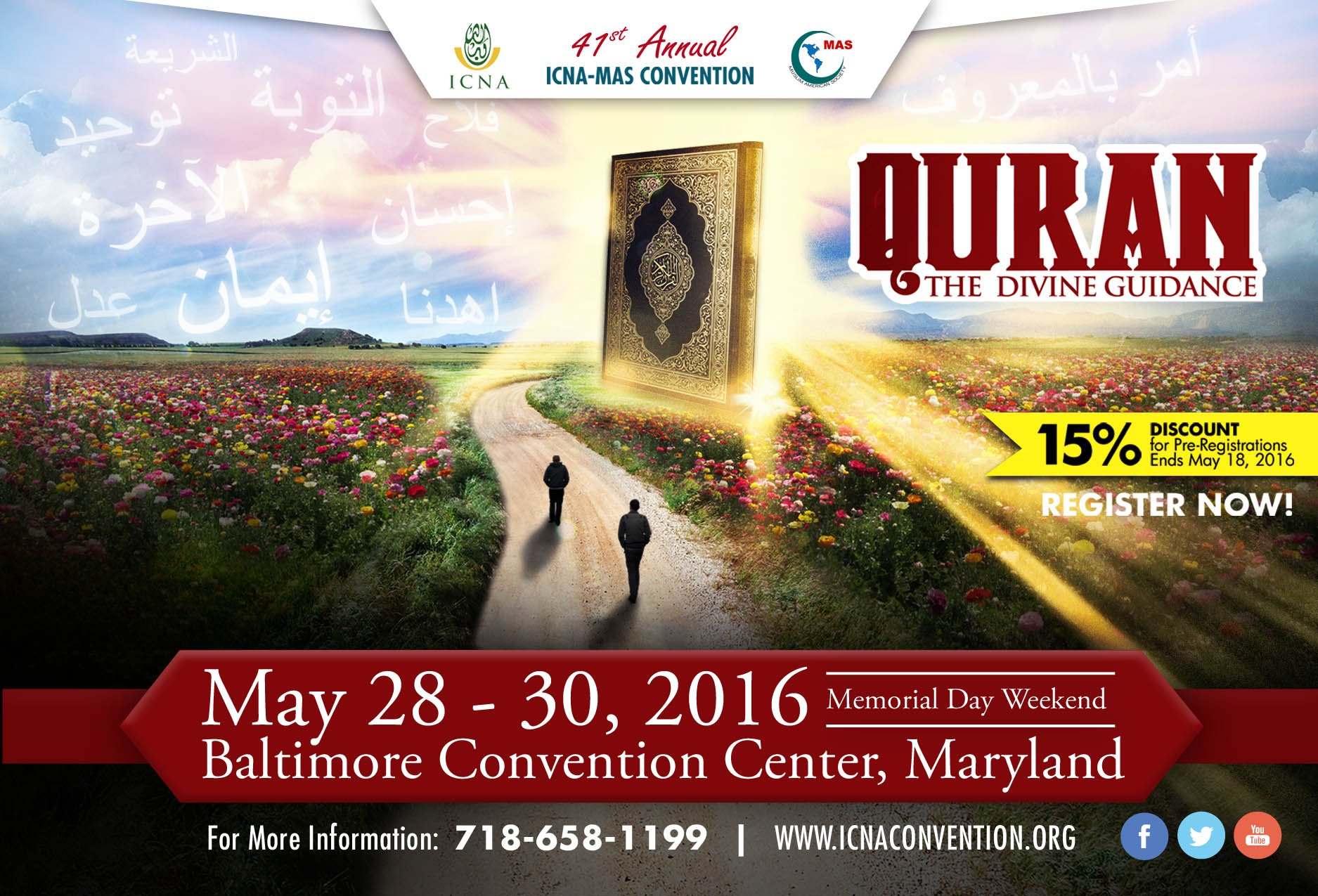 ICNA CSJ Focuses on Social Justice Issues at the 41st ICNA-MAS Convention