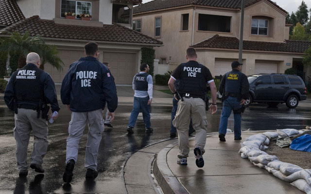 What to Do When Immigration Agents Are At Your Door