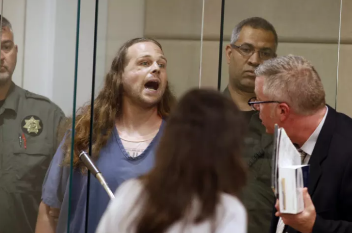 The White Supremacist Accused Of The Portland Train Stabbings Ranted About Patriotism In Court