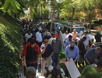 Khutba in Front of Burma Embassy in Washington D.C.