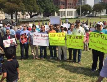 ICNA CSJ Participates in Rallies Across the Country for Rohingya Muslims