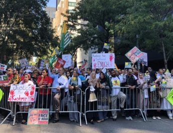 Massive rally of over 20,000 at UN. CSJ leads in coordination