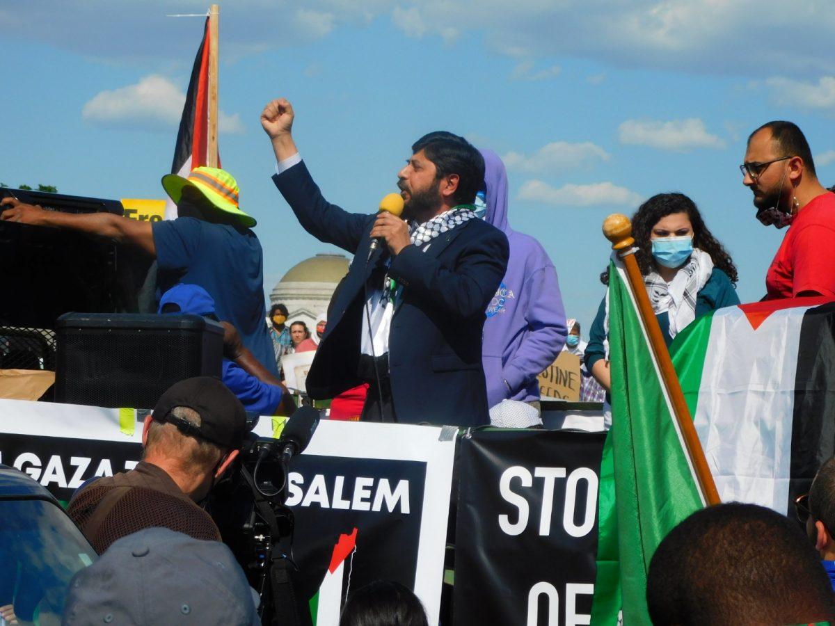 President of ICNA, Dr. Mohsin Ansari, Speaking at the Washington DC rally